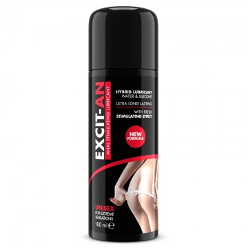 Excit an Lubricante Base Mixta Agua y Silicona Efecto Frescor 75 ml