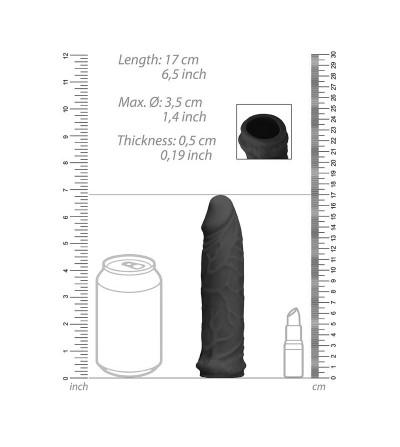 Funda para Pene 17 cm Negro