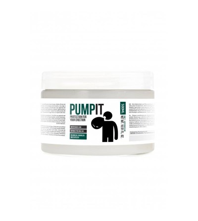 Lubricante Base de Agua Pump it 500 ml