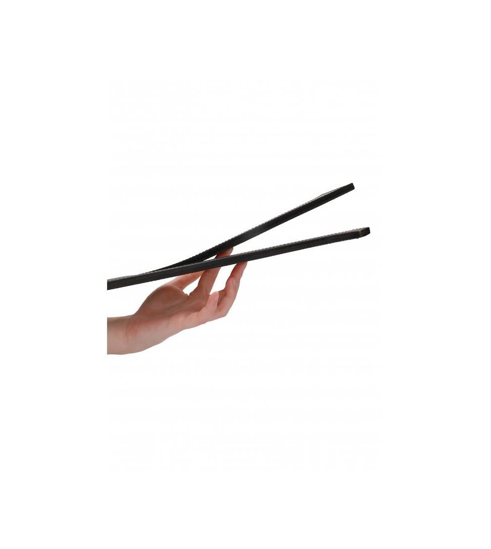 Pala Two Finger Cuero Negro