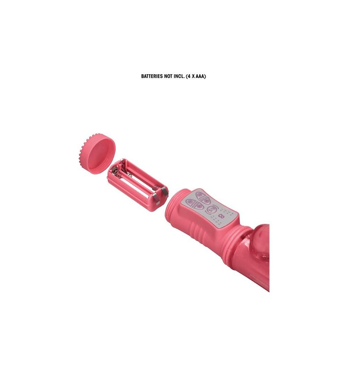 Rotador Dolphin 23 cm Punto G Rosa