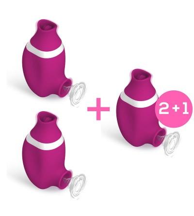 Pack 2 1 No Seven Succionador de Clitoris y Lengua Estimuladora USB