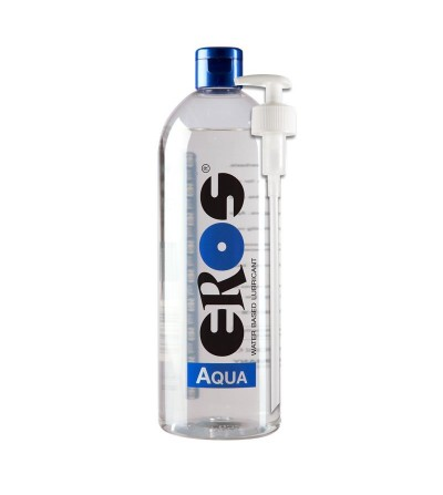 Lubricante Base Agua Aqua Botella dispensador 1000 ml