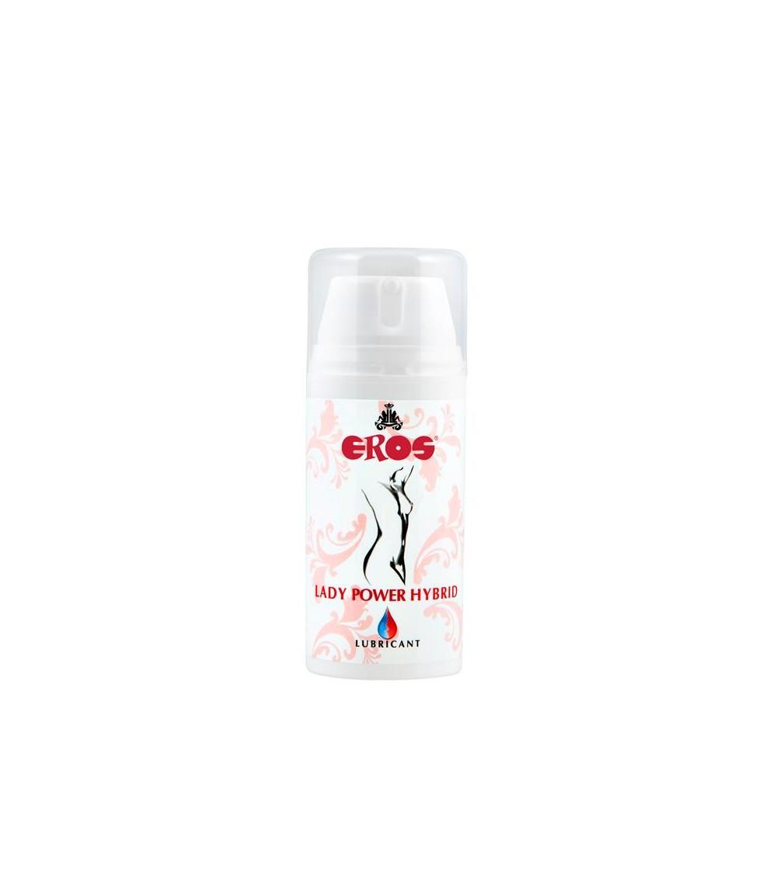 Lubricante Hibrido Lady Power Silicona y Agua 100 ml
