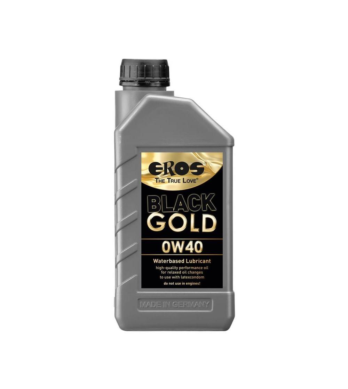 Lubricante Extra Lubricacion Black Gold 0W40 1000 ml