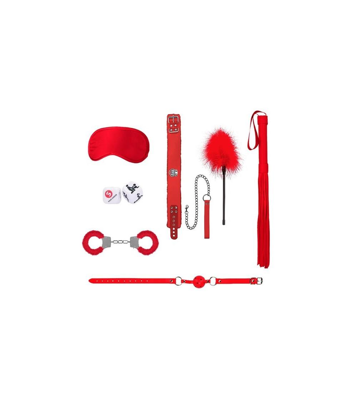 Kit de Bondage para Principiantes N6 Rojo