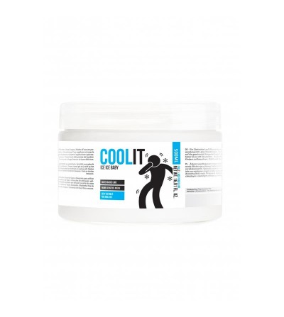 Lubricante Base Agua Cool It Ice Baby 500 ml