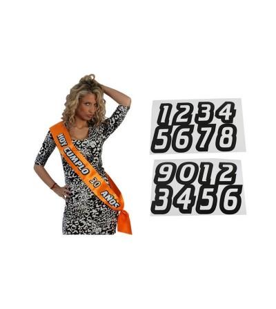 Femarvi Banda Personalizable Hoy Cumplo Color Naranja