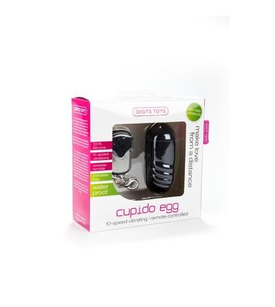 Shots Toys Cupido Huevo Vibrador Negro