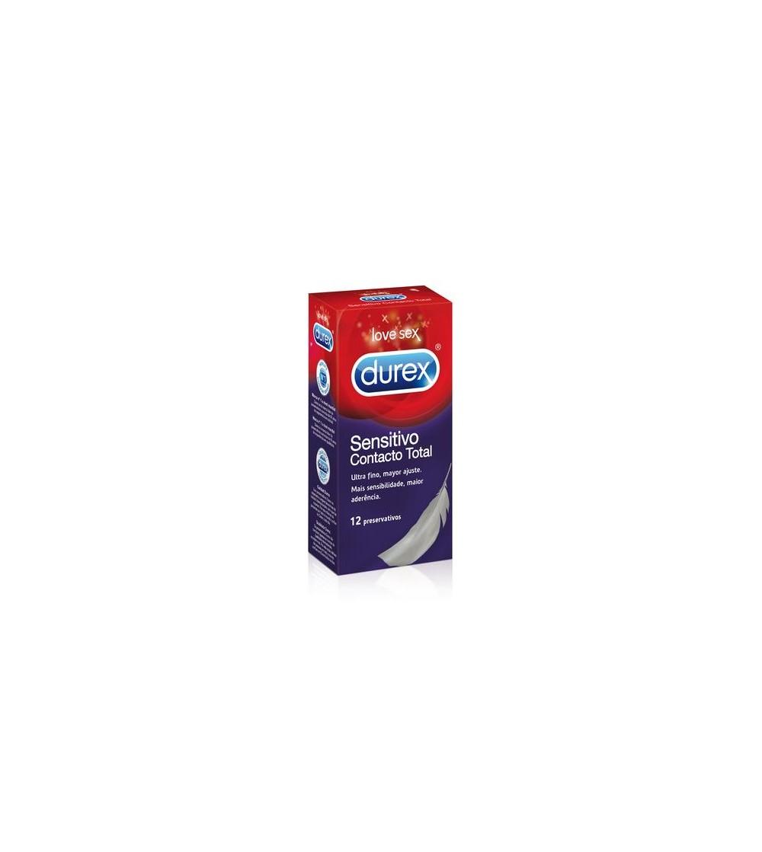 Preservativos Sensitivo Contacto Total 12 Unidades