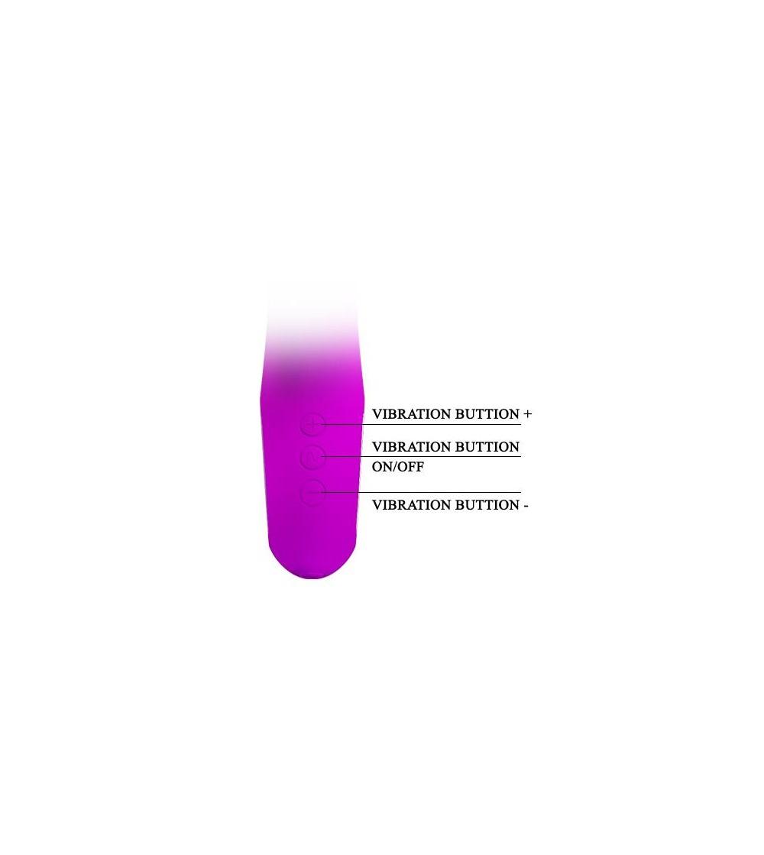 Vibrador Hot Rabbit Purpura