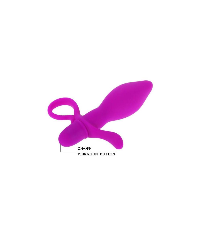 Plug Anal con Vibracion Taylor Color Purpura