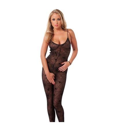 Rimba Amorable Catsuit de Mujer Arana Color Negro Talla unica