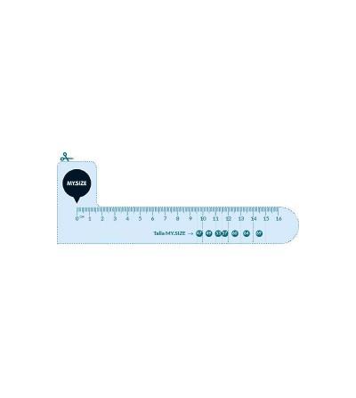 My Size Preservativo Natural de Latex Talla 64 Caja de 10 Unidades