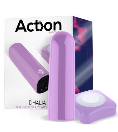Dhalia Bala Vibradora Control Remoto USB Pupura