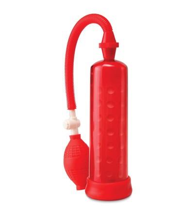 Pump Worx Succionador de Silicona Color Rojo