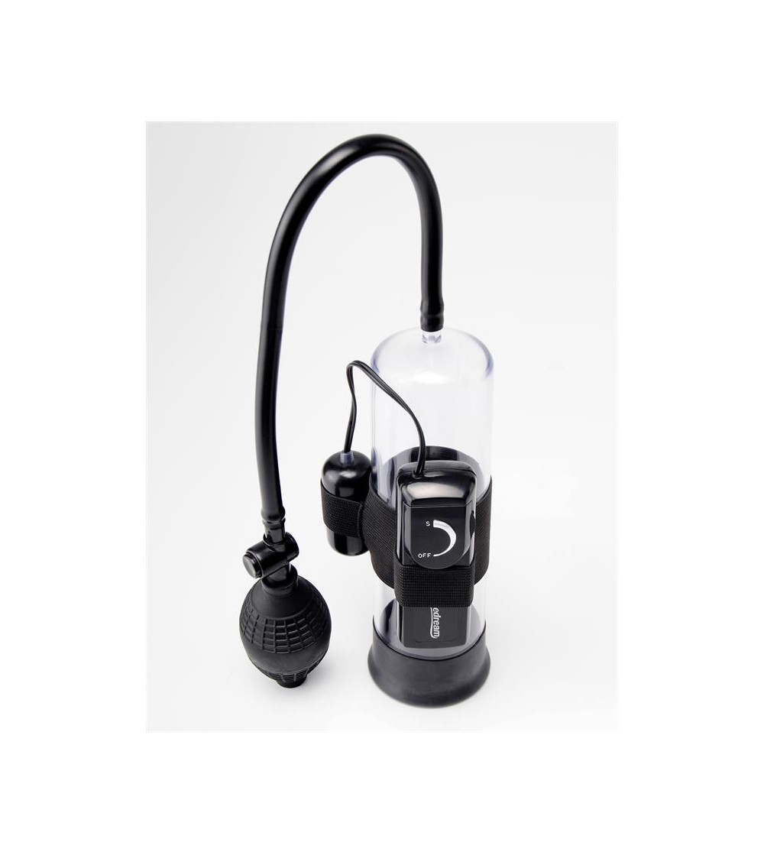 Pump Worx Succionador Vibrador para Principiantes Color Negro