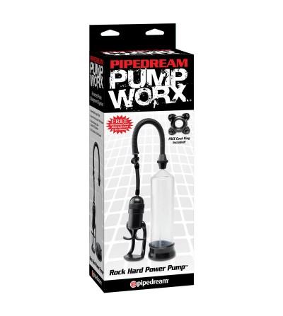 Pump Worx Succionador Rock Hard Power Color Negro