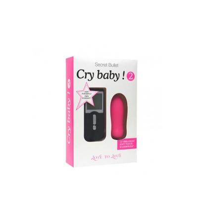 Huevo Vibrador con Control Remoto Cry Baby 2