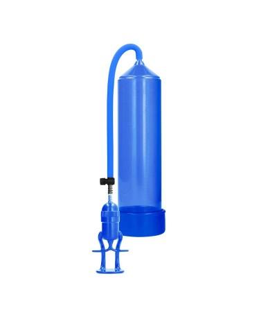 Shots Pumped Succionador de Pene para Principiantes Deluxe Color Azul