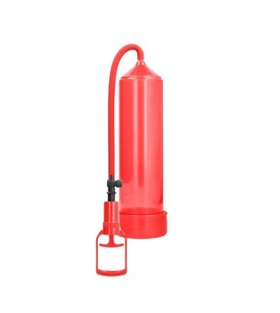 Shots Pumped Succionador de Pene para Principiantes Comfort Color Rojo