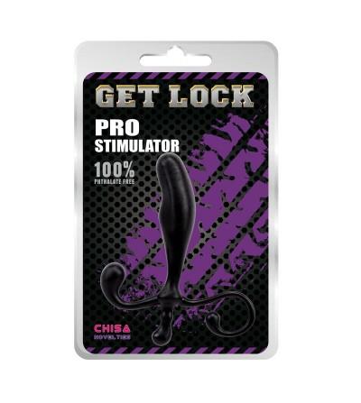 Estimulador Prostatico 125 x 25 cm Negro