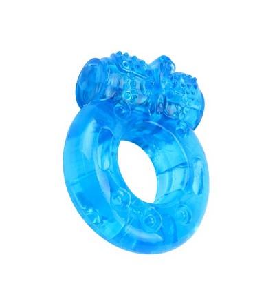 Anillo para el Pene y Vibracion 18 cm Azul