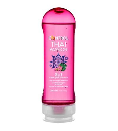Gel de Masaje Thai Passion 2 en 1 200 ml