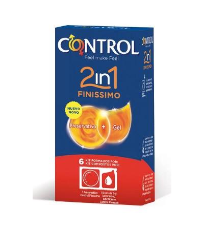 Preservativos Finissimo 2 en 1 6 unidades