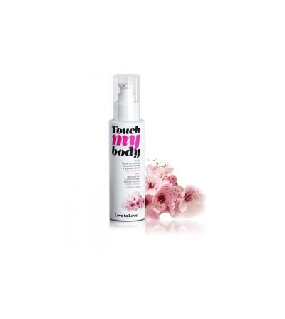 Aceite de Masaje y Lubricante Touch my Body Aroma a Flor de Cerezo