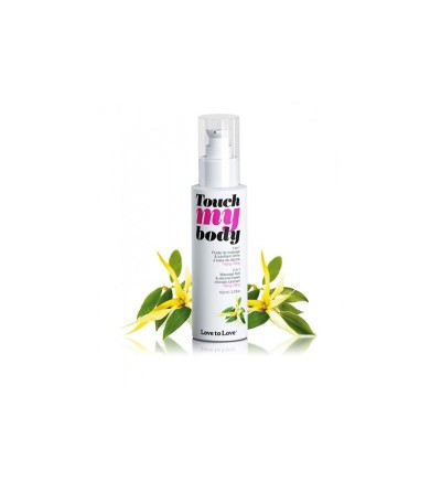 Aceite de Masaje y Lubricante Touch my Body Aroma a Ylang Ylang