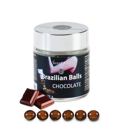 Tarro de 6 Brazilian Balls Aroma a Chocolate