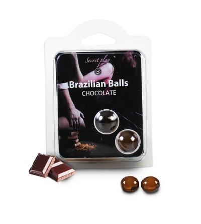 Set 2 Brazilian Balls Aroma a Chocolate