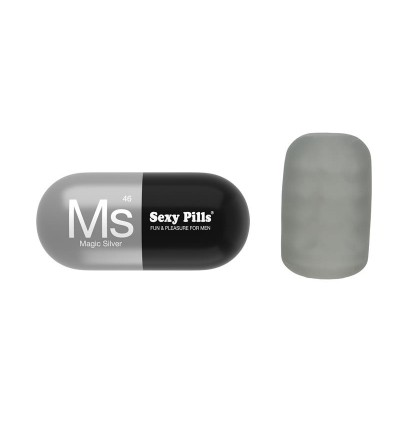 Masturbador Sexy Pills Magic Silver