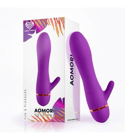 Aomori Vibrador Silicona Purpura