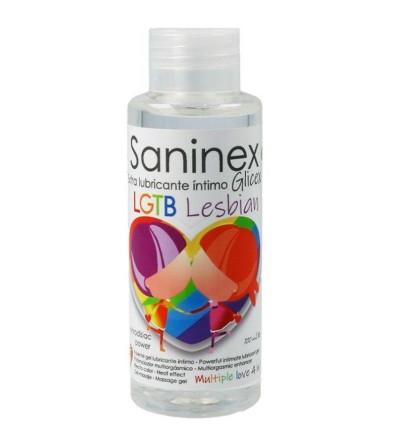 Lubricante Glicex LGTB Lesbian 4 en 1 100 ml