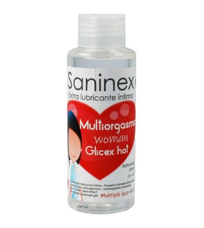 Lubricante Glicex Multiorgasmic Woman Hot 4 en 1