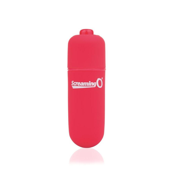 Bala Vibradora Soft Touch Color Rojo