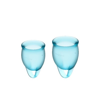 Copas Menstruales Feel Confident Light Blue Pack de 2