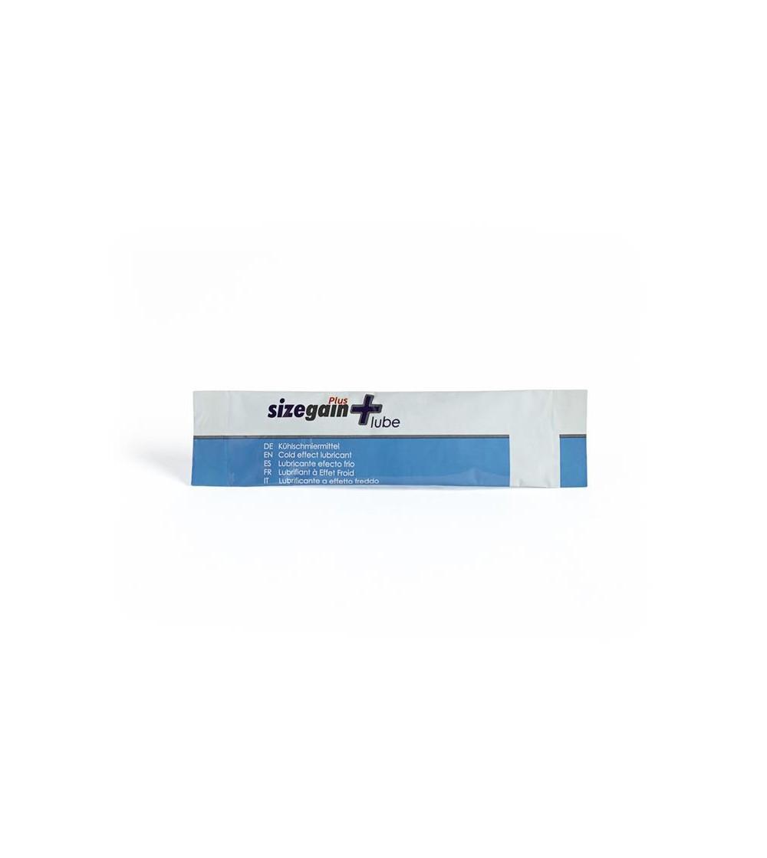Lubricante Efecto Frio Sizegain Lube 10 Monodosis 5 ml