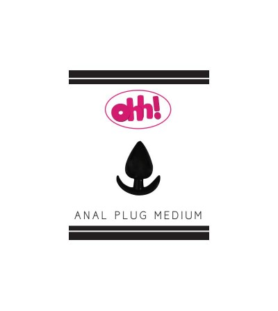 Plug Anal Mediano Color Negro
