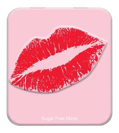 Caramelos Sabor Menta Kiss Mints Sin Azucar