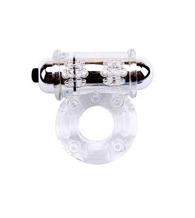 Anillo Vibrador para el Pene Bull Ring Transparente