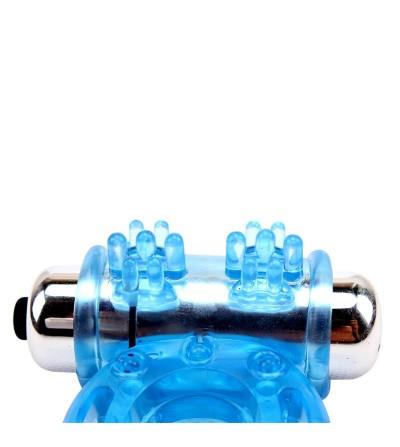 Anillo Vibrador para el Pene Bull Ring Azul