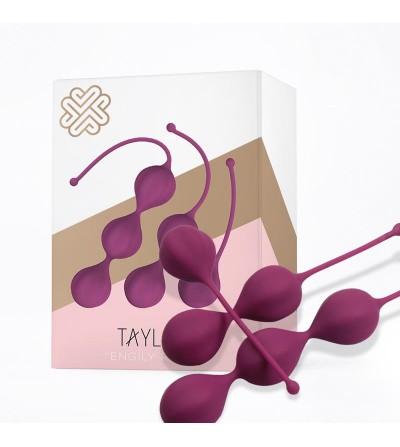 Taylor Bolas Kegel Silicona Purpura