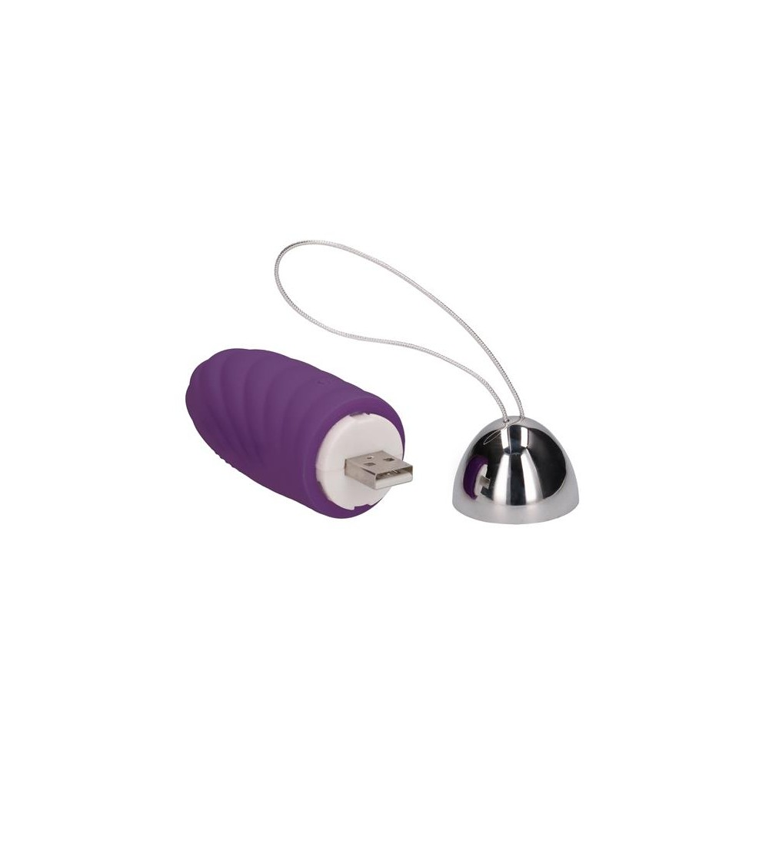 Huevo Vibrador Ethan Control Remoto Recargable Purpura