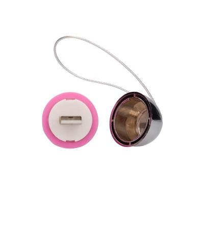 Huevo Vibrador Luca Control Remoto Recargable Rosa