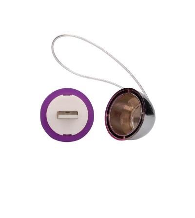 Huevo Vibrador Luca Control Remoto Recargable Purpura