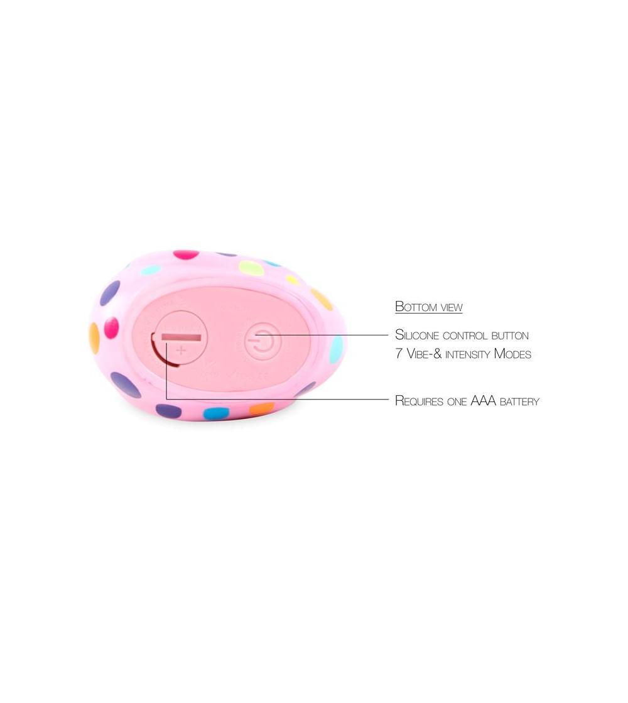 Estimulador I Rub My Duckie 20 Happiness Rosa y Multicolor