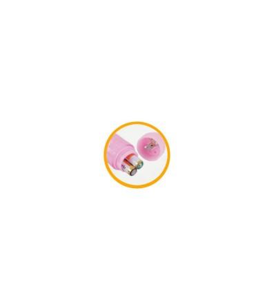 Baile Vibrador Color Rosa